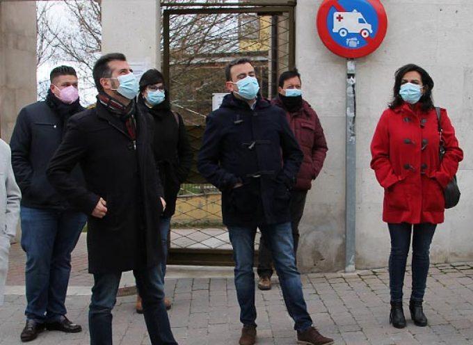 """Tudanca considera """"irrisoria"""" la partida de 100.000 euros en el presupuesto regional para el centro de salud de Cuéllar"""
