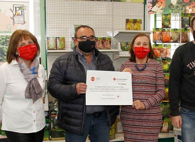 Cooperativa Glus I colabora con una donación de 2.500 euros en los proyectos de Cruz Roja Segovia