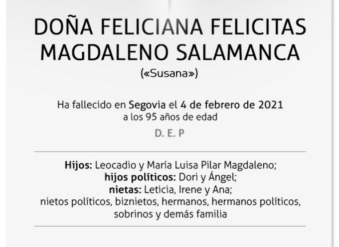 Feliciana Felicitas Magdaleno Salamanca