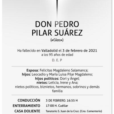 Pedro Pilar Suárez