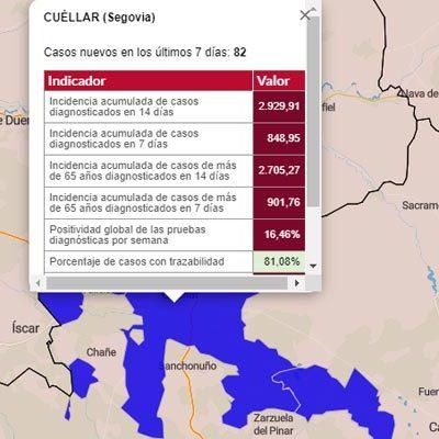 Aumentan los brotes en la comarca con tres en Cuéllar y uno en Nava de la Asunción