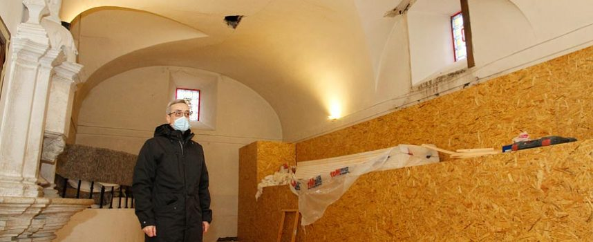 Patrimonio informa favorablemente la demolición y reposición de la bóveda de la sacristía del Santuario de El Henar