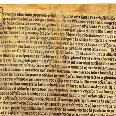 La bula más antigua de las encontradas en la iglesia de San Esteban de Cuéllar es la pieza del mes del Museo de Segovia