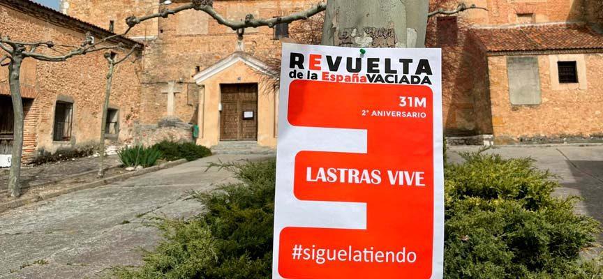 La España Vaciada exige equilibrio territorial con el Plan 100/30/30 en el `Yo paro por mi pueblo´