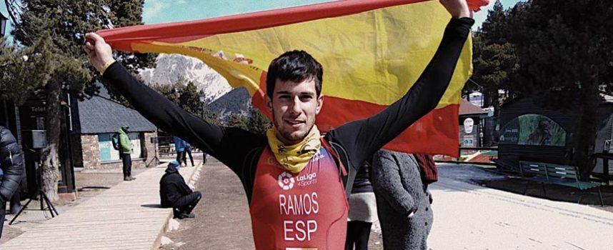 El cuellarano Hugo Ramos se proclama Campeón del Mundo de Triatlón de Invierno en su categoría