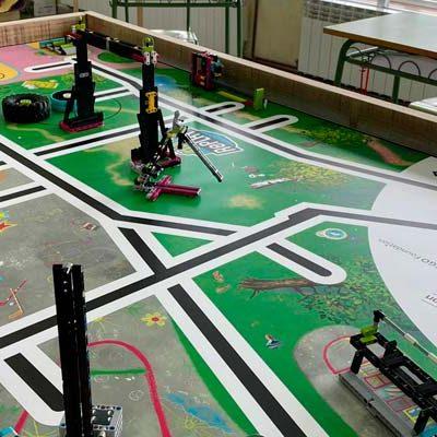 Seis alumnos del colegio de Mata de Cuéllar mostrarán sus `superpoderes´ en la First Lego League