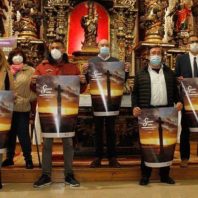 La Junta de Cofradías de Cuéllar prepara una Semana Santa marcada por las restricciones y el control de aforos