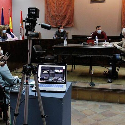 Los grupos municipales alcanzan un acuerdo para la transmisión de los plenos en Cuéllar