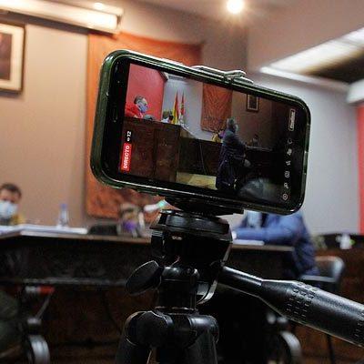 PP y CS contratan la retransmisión en directo del pleno del Ayuntamiento de Cuéllar de mañana