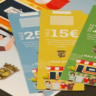 Ochenta establecimientos cuellaranos se suman a la campaña de bonos al consumo `Haz piña´