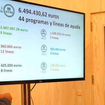 La Diputación aporta seis millones de euros al programa de recuperación socioeconómica 'Segovia, Provincia Reactiva2'