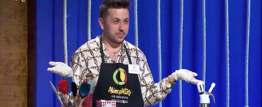 Alberto Alonso, de Gomezserracín, se quedó a las puertas de participar en la novena edición de Masterchef