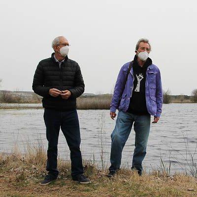 La Asociación El Espadañal estudia la vegetación y los mamíferos en torno al humedal y el río Cega