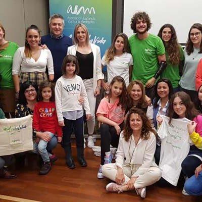 Fachadas verdes en el Día Mundial contra la Meningitis