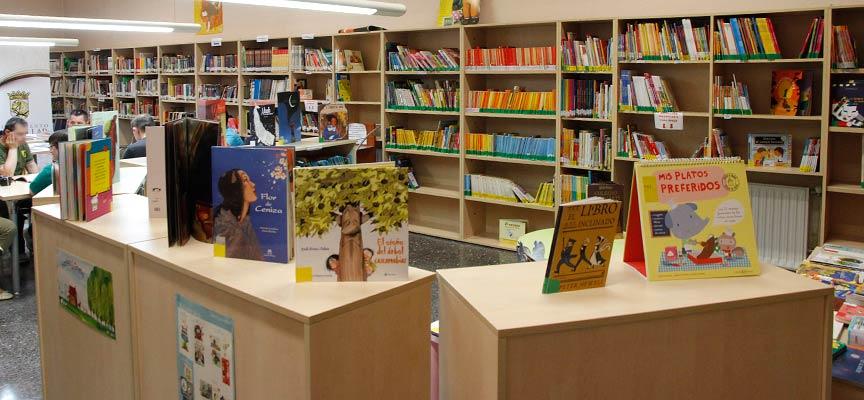 zona infantil de la Biblioteca Municipal Cronista Herrera, en Cuéllar