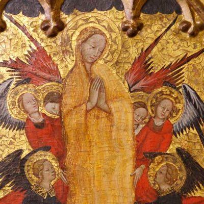 El Museo de Segovia está restaurando el díptico de Juan Fernández originario del Hospital de la Magdalena