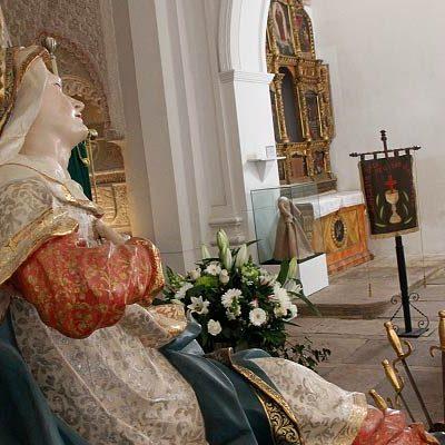 La Semana Santa se vive en las iglesias cuellaranas