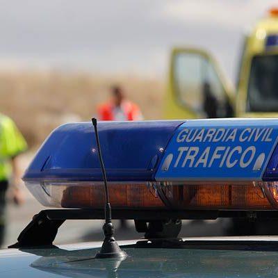 La Guardia Civil investiga a un menor accidentado conduciendo sin carné en Cuéllar