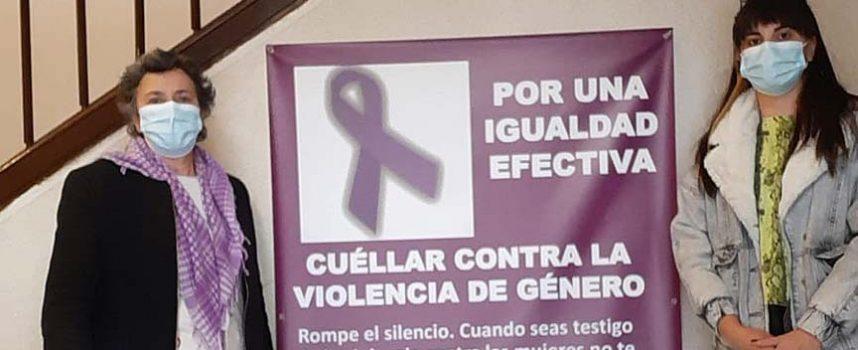 Igualdad recontará las víctimas mortales por violencia machista en una lona instalada en el Ayuntamiento