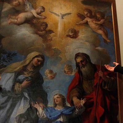 Cuéllar aporta a la exposición de las Edades del Hombre un cuadro de Luca Giordano que se conserva en San Miguel