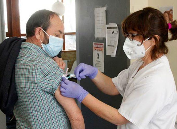 La Junta amplía al jueves la vacunación en Fuentesaúco de Fuentidueña