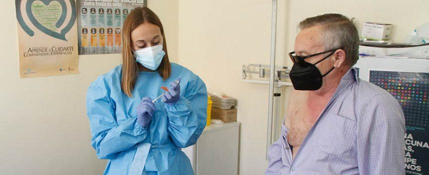 Mañana comienza en la comarca la vacunación anticovid-19 a los nacidos en 1959