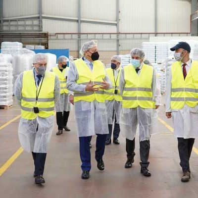 La Junta impulsa en Segovia a 370 empresas en la creación o mantenimiento de empleo con 42,5 millones de euros