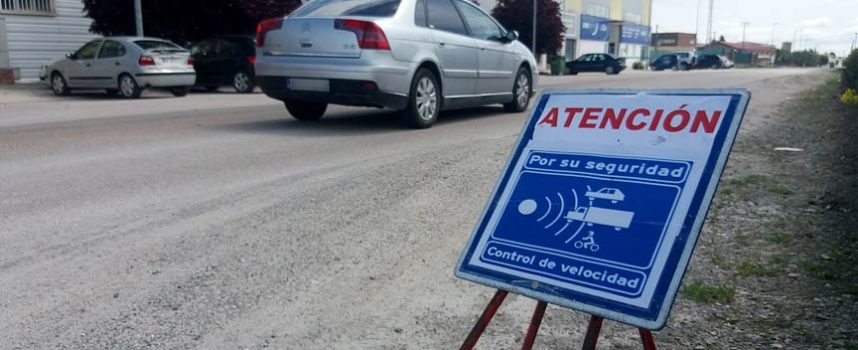 La Policía Local de Cuéllar impuso 13 denuncias en la campaña de control de velocidad