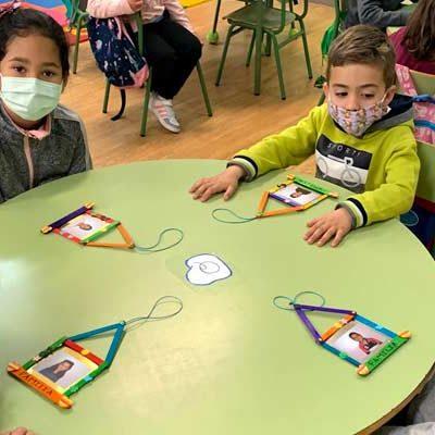 Los alumnos de Infantil del colegio San Gil celebran el Día Internacional de las Familias