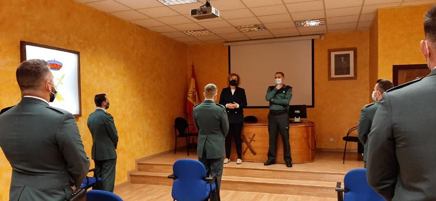 La Guardia Civil de Segovia incorpora a 36 nuevos agentes a su plantilla