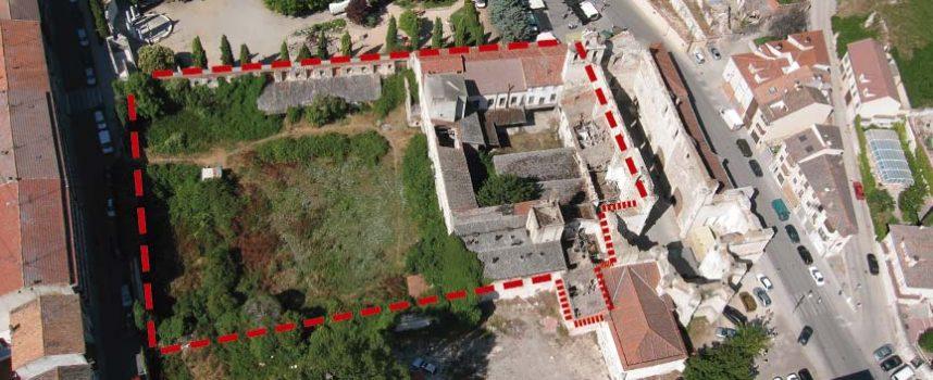 El Ayuntamiento adquiere el claustro y la huerta de San Francisco para construir el auditorio