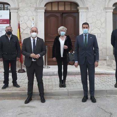 La Junta ha invertido 88.300 euros en la rehabilitación del Ayuntamiento de Olombrada