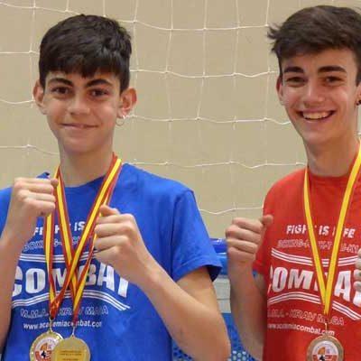 Los hermanos Hugo y Alain González vuelven a subirse al podio