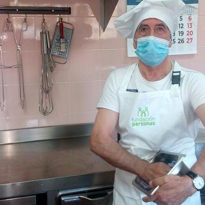 Fundación Personas Cuéllar forma a quince usuarios como ayudantes de cocina