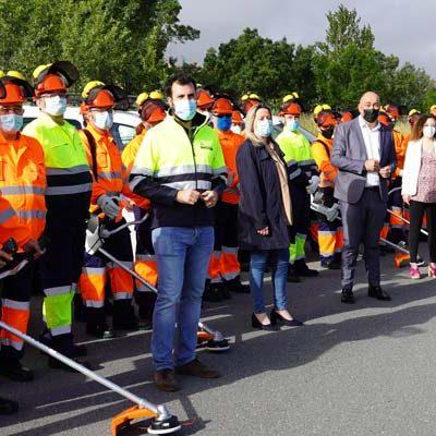 La Diputación de Segovia contrata treinta trabajadores para trabajos forestales