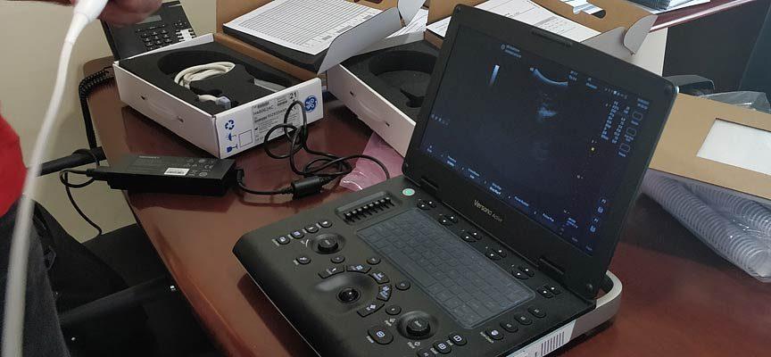 El Ayuntamiento de Sanchonuño adquiere un ecógrafo portátil para su consultorio médico