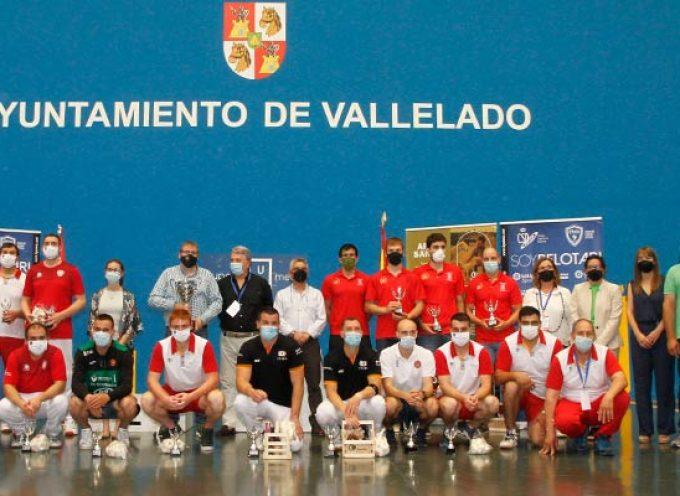 Navarra revalida en Vallelado la Copa del Rey de Pelota por quinto año consecutivo