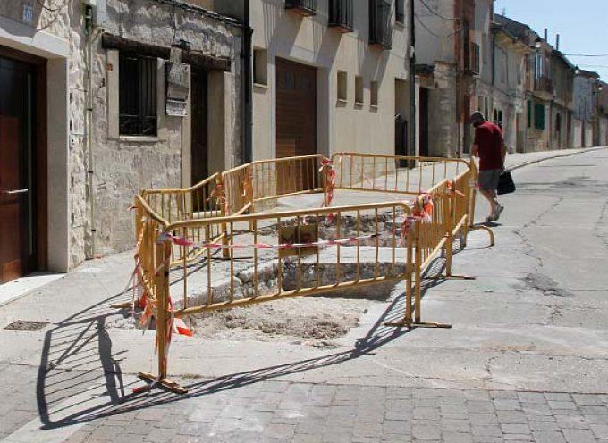 Comienzan los estudios arqueológicos previos a la reforma de la calle La Pelota