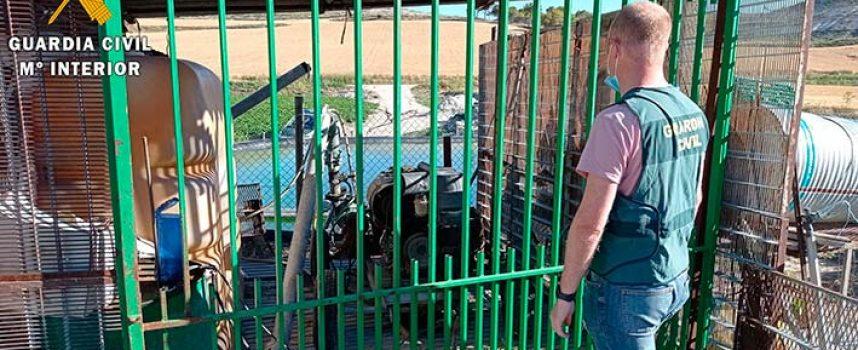 Investigado el presunto autor de seis delitos de hurto en explotaciones agrícolas de Cuéllar y Remondo