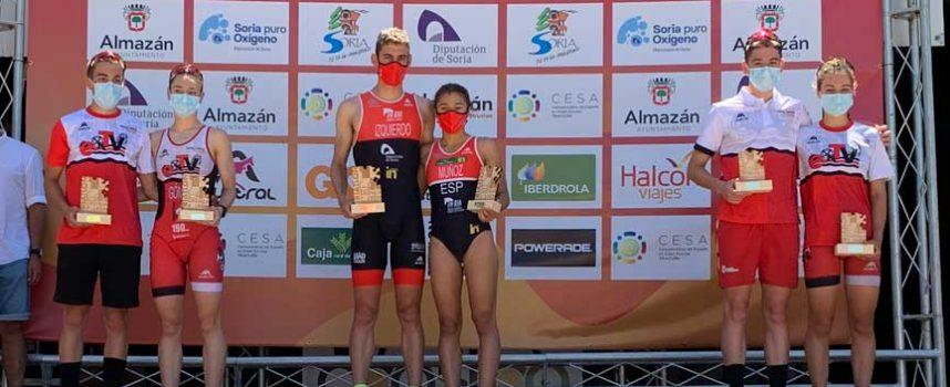 Marina Muñoz, oro en el Campeonato regional de Triatlón Sprint