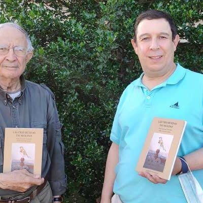 "Pablo Quevedo, padre e hijo, escriben un libro ""al alimón"" con la naturaleza como protagonista"