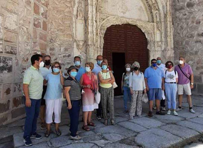 El programa `Viajero yo te enseñaré Segovia´ visitó Fuentepelayo y Carbonero el Mayor