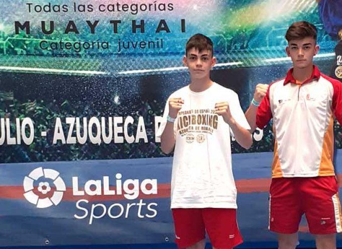 El cuellarano Hugo González sumó una nueva medalla de bronce en el Campeonato de España de Kickboxing