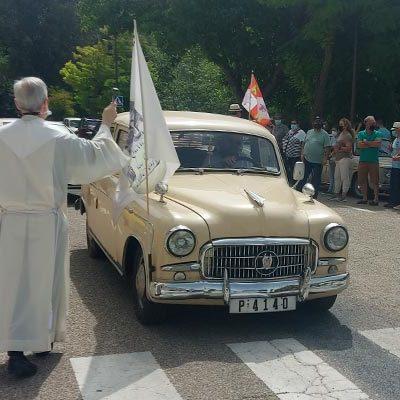 El Santuario de El Henar recuperó la celebración de San Cristóbal