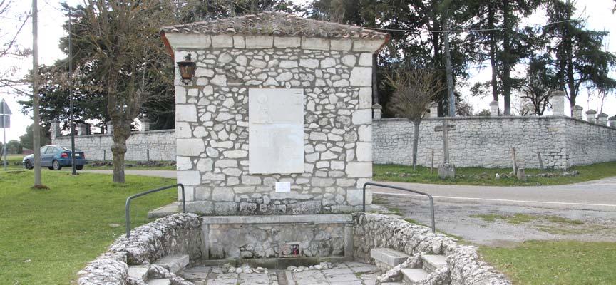Fuente del Cirio, en El Henar.