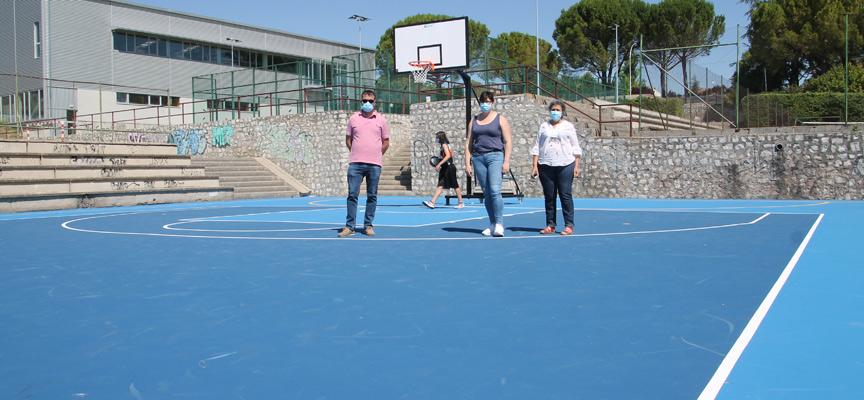 visita pista baloncesto_ esCuéllar