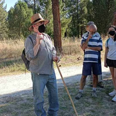 Recorrido por el entorno del Cega en Mata de Cuéllar con Cegafest
