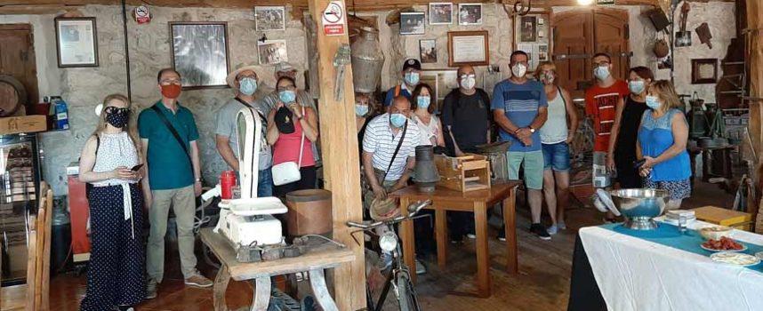 La Diputación recorrió Fuentidueña y Sacramenia en su programa de visitas guiadas