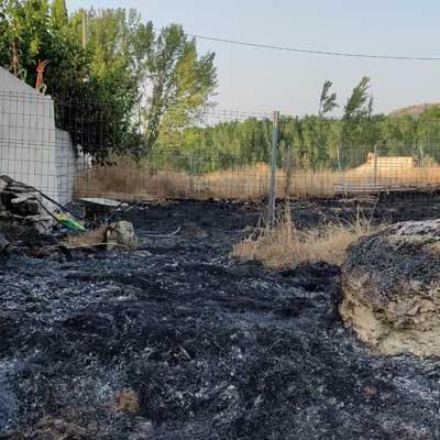 La Guardia Civil realiza actuaciones en materia de prevención y lucha contra incendios en Carbonero y Fuentidueña
