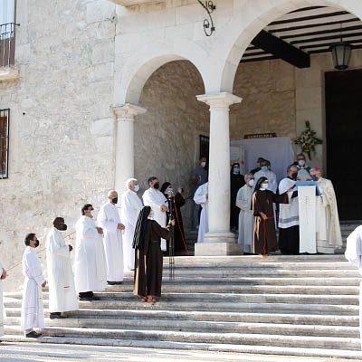 La Puerta Santa de El Henar se abre a los peregrinos en el Año Jubilar
